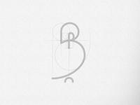 B + Bird logo Concept Grid
