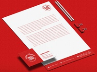 Tushar Thakur Photography Business card and Letter head Design