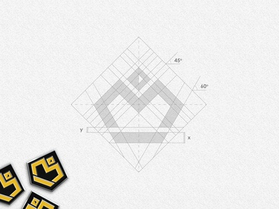 Matéreal Designs logo grid