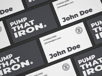 Iron Clad Champs Business Card