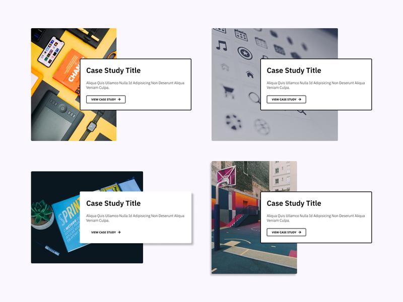 Case Study Cards houston designers portfolio figmadesign ux ui figma design article case study case studies card design