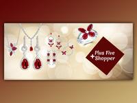Plus Five Shopper's Facebook Cover