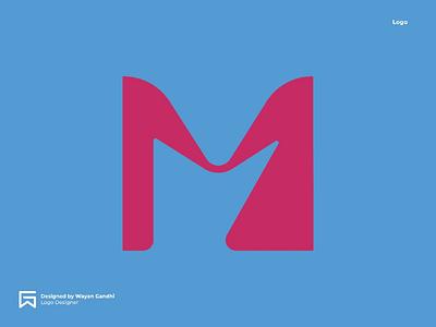 M for Maried Logo Concept m logo logo clever logo simple logo professional logo inspiration wayan gandhi wgndhi logo vector married logo wedding logo wedding married