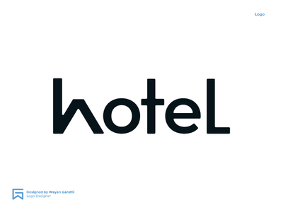 H for Hotel Logo Explorarion graphic design logo design logo inspirations logo clever logo simple wayan gandhi wgndhi dribbble dribbble logo hotel logo hotel