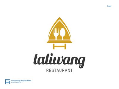 Taliwang Logo Design food logo logotype graphic design logo designer simple logo logo design logo mark simple logo clever logo restaurant logo monogram ganbranding restaurant gandhiven wayan gandhi