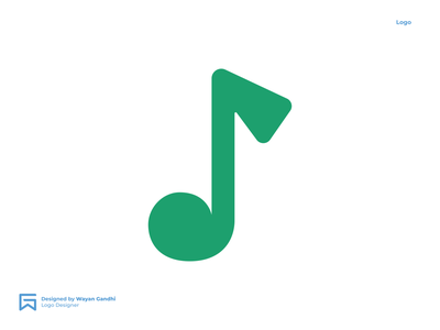 Golf Music Logo Concept logo designer golfmusiclogo musiclogo golflogo golfmusic gandhiven monogram clever logo logo design simple logo wayan gandhi
