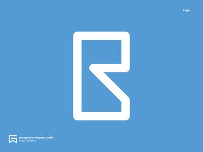 BR Logo Concept br logo b logo logo mark simple monogram logo clever logo simple logo logo design wayan gandhi