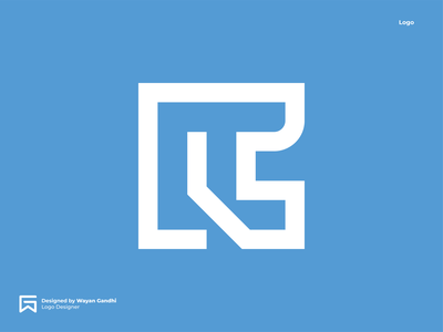 R+C Logo Concept graphic design rclogo rc logo design monogram logo clever logo simple logo logo design wayan gandhi