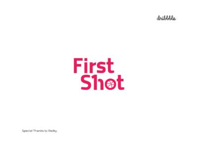 1st First Shot Logo Design