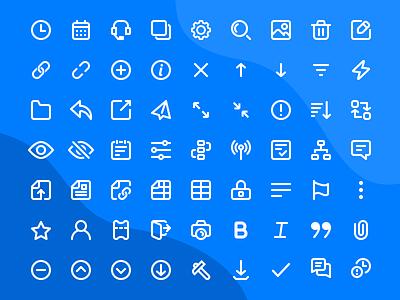 Capacity Icon Set  /  01 saas design icon design iconography icons pack icons icon set ui design