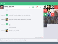 Chat Interface (Light)