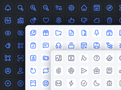 SaaS Essentials Icon Set v1 saas app saas design software design line icons ui design ui icon icon packs icon pack icon set icons