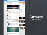 Answer Page