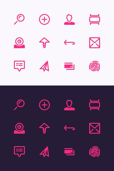 Zipline icons