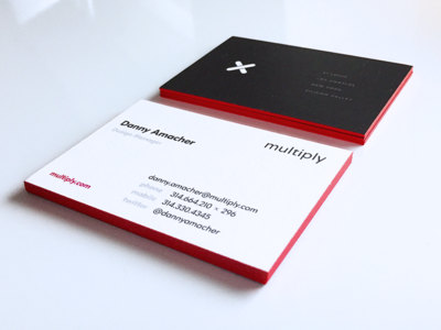 MULTIPLY Business Cards