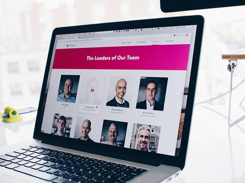 Leadership careers clean leadership team about us ui design ui web design website