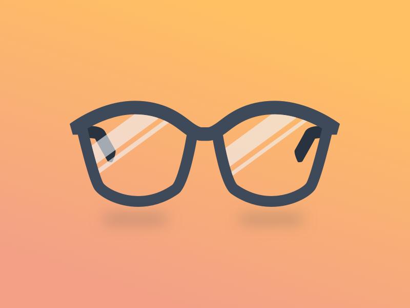 New Year, New Company artificial intelligence ai identity branding brand icon illustration glasses