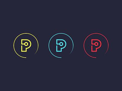 Prepare.AI Logomark conferences artificial intelligence ai nonprofit brand design branding brand logomark icon logos