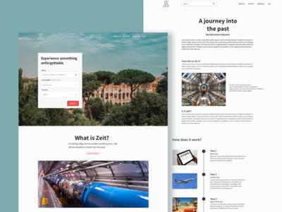 Travel Service Homepage