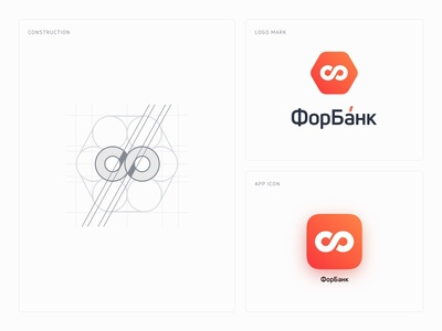 Logo Design For Russian Online Bank