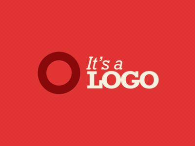 It's a logo logo red