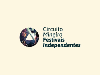 Circuito Mineiro de Festivais Independentes minimalism cmfi circuito mineiro festivais independentes indie minas logo id