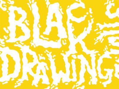 Black Drawing Chalks poster black drawing chalks type yellow