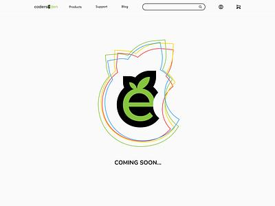 Eden is coming! icon website ux web branding creative minimal clean comingsoon code design coderseden