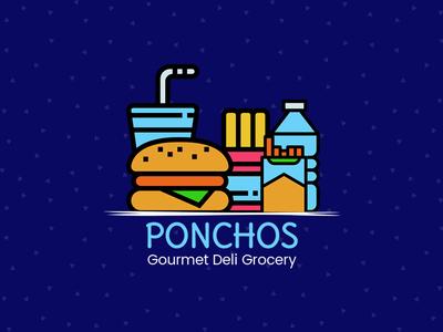 Ponchos | Logo Designing | Suffix Digital