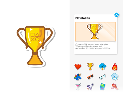Sticker for Playstation | Swarm