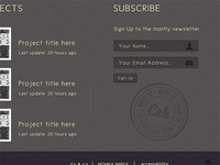 Blog Footer - Stamp