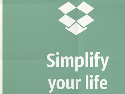 Simplify your Life dropbox simplify rebound comp minimal