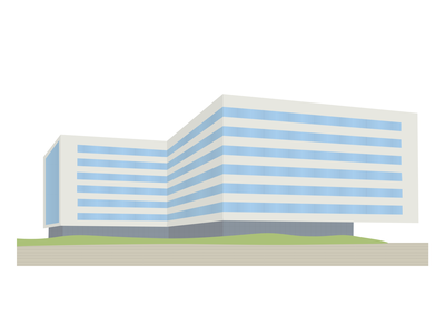 illustration of building illustration design adobe illustrator
