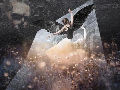 Ballerina photoshop art photoshop ballet collages collage art collage digital painting digital art