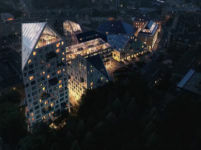 Promo Nieuw Bergen | Architecture Project showreel parralax transition architecture adobe aftereffects uiux web clean adobexd design motion design awwwards webdesign