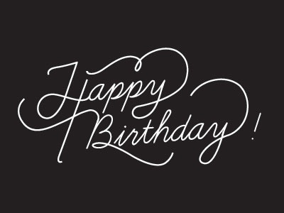 happy birthday by roxanne bello dribbble dribbble