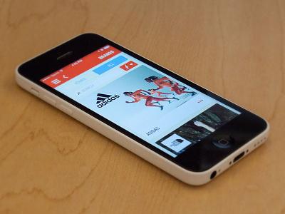 Experticity Mobile App - Brand Browse mobile design app brand profile