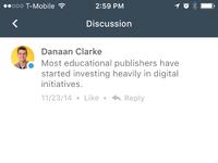 Discussion unread