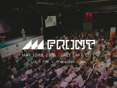 Front Conference 2016 design conference product management product design ui ux