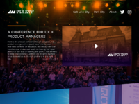Front 2017 website