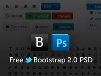 Free Bootstrap 2.0 Psd Template