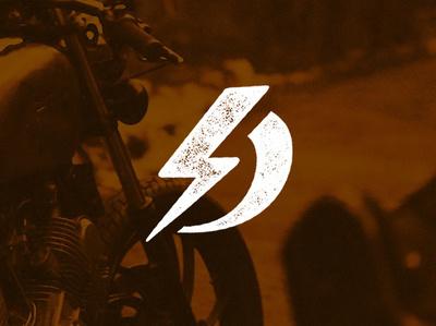 Dylan Wilkinson Logo weathered bolt of lighting spark creative spark personal logo personal branding d d logo logo design branding