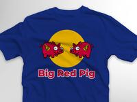 Big Red Pig supermoto build series shirt