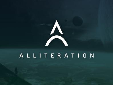 Alliteration logo vector illustration logo branding design