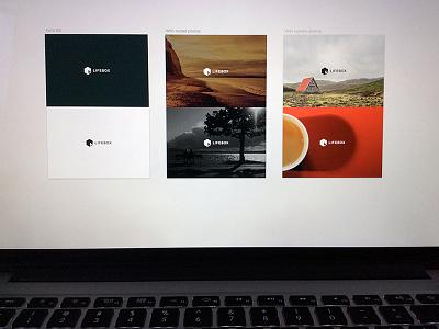 Lifebox Concepting web design branding concepting logo website hero treatments