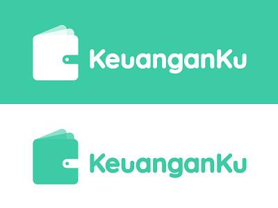 App Logo KeuanganKu typography graphicdesign logo design