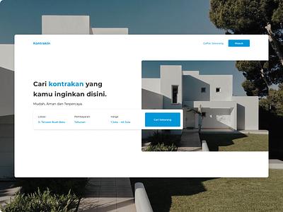 KontrakIn App webdesign figmadesign design ui