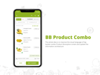 Redesign Big basket Product Combo Detail Page
