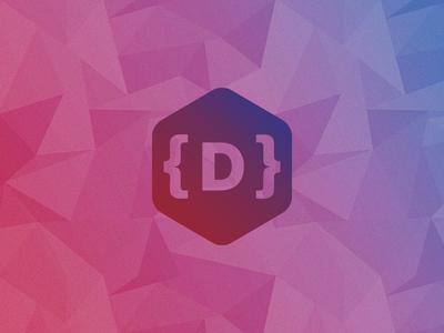 Finalization logo branding polygons shapes gradients gradient