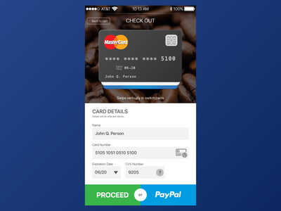 Dailyui002 Dribbble ui checkout card credit dailyui002 dailyui